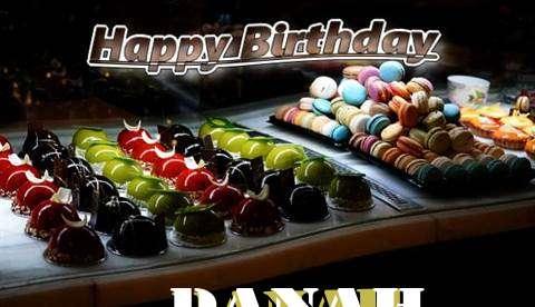 Happy Birthday Cake for Danah