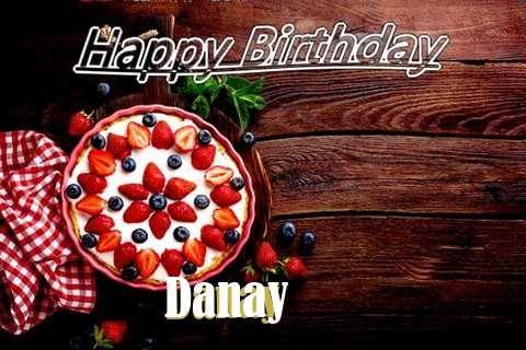 Happy Birthday Danay Cake Image