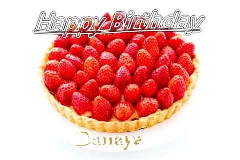 Happy Birthday Danaya Cake Image