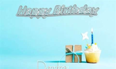 Happy Birthday Cake for Dandra