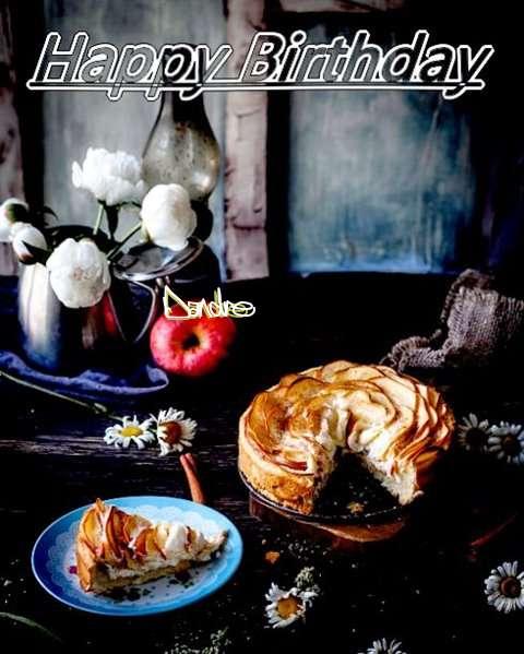 Happy Birthday Dandre Cake Image