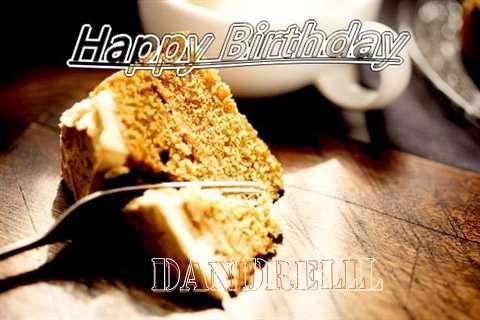 Happy Birthday Dandrell Cake Image