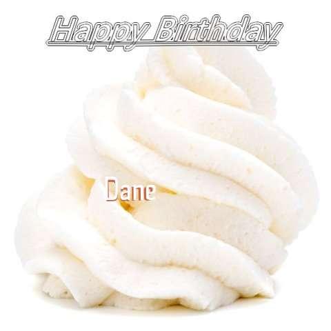 Happy Birthday Wishes for Dane