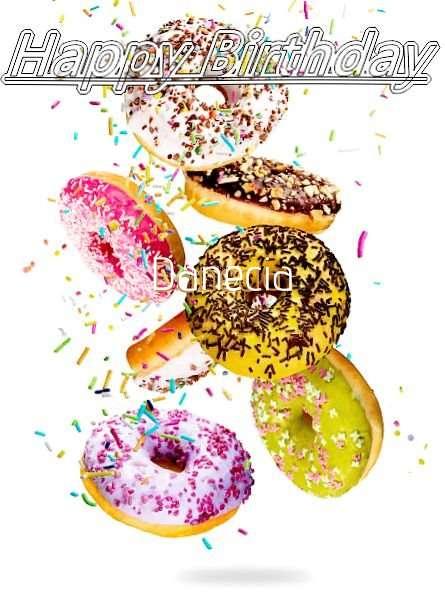 Happy Birthday Danecia Cake Image