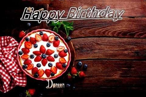 Happy Birthday Daneen Cake Image
