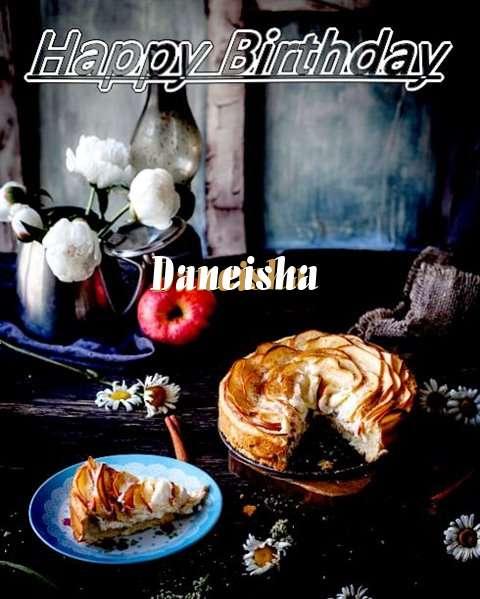 Happy Birthday Daneisha Cake Image