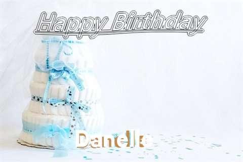 Happy Birthday Danelle Cake Image