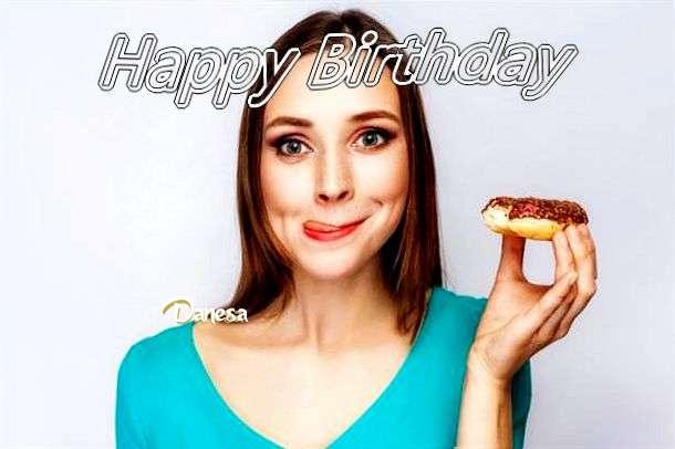 Happy Birthday Wishes for Danesa