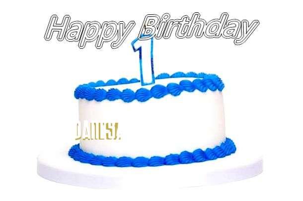 Happy Birthday Cake for Danesa
