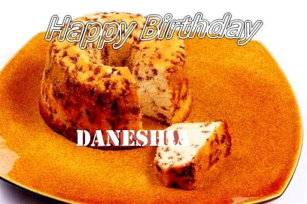 Happy Birthday Cake for Daneshia