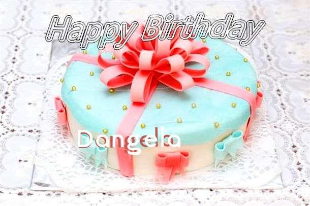 Happy Birthday Wishes for Dangela