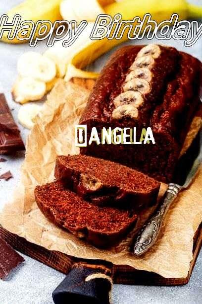 Happy Birthday Cake for Dangela