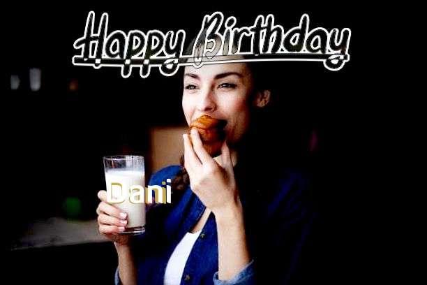 Happy Birthday Cake for Dani