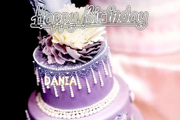 Happy Birthday Dania