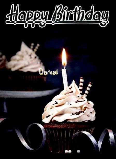 Happy Birthday Cake for Danial