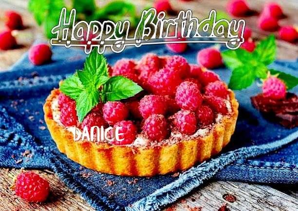 Happy Birthday Danice Cake Image