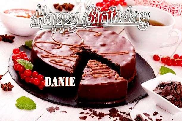 Happy Birthday Wishes for Danie