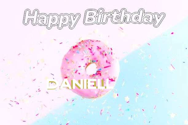 Happy Birthday Cake for Daniell