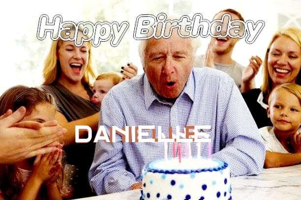 Happy Birthday Danielle Cake Image