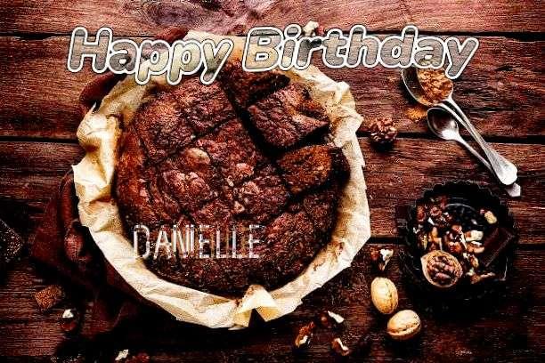 Happy Birthday Cake for Danielle