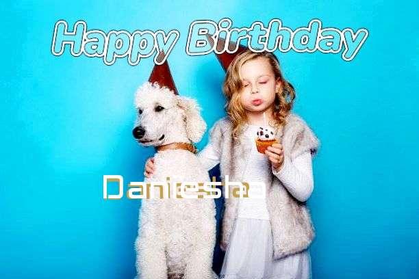 Happy Birthday Wishes for Daniesha