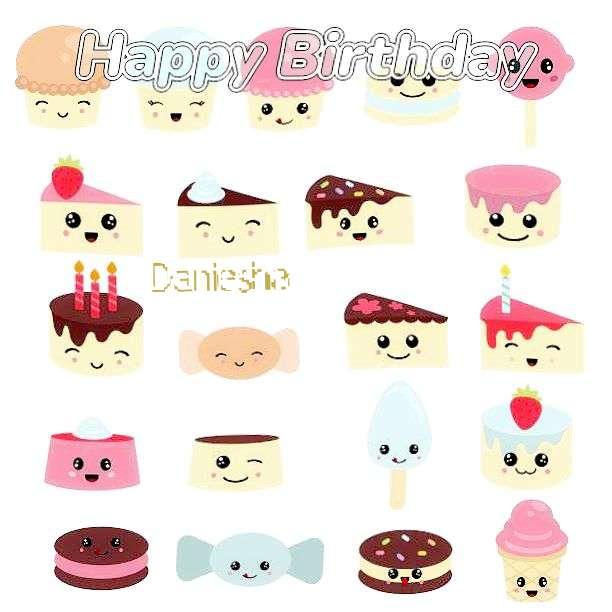 Happy Birthday to You Daniesha