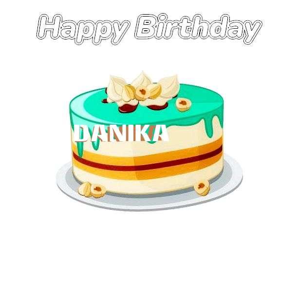 Happy Birthday Cake for Danika