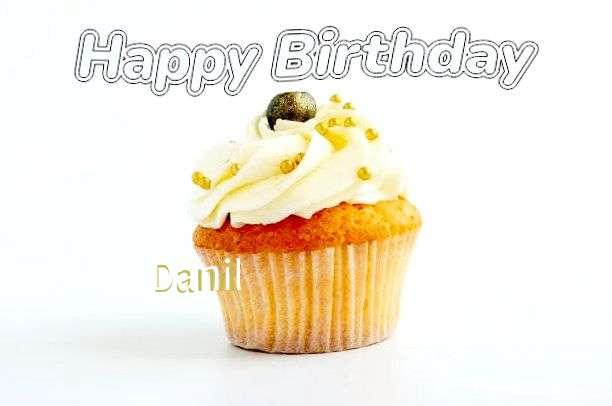 Happy Birthday Cake for Danil