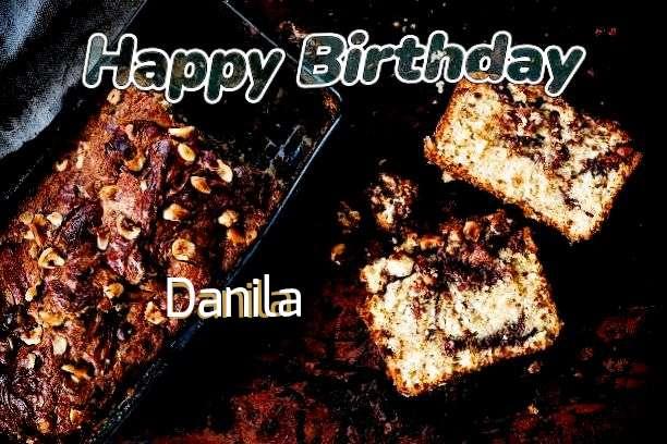 Happy Birthday Cake for Danila