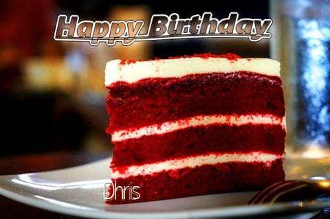 Happy Birthday Dhris