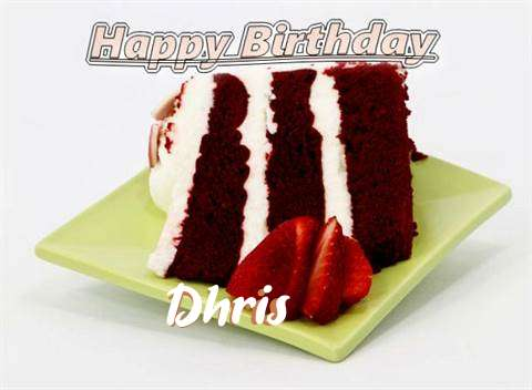 Birthday Wishes with Images of Dhris