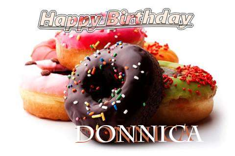 Birthday Wishes with Images of Donnica