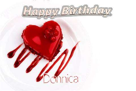 Happy Birthday Wishes for Donnica