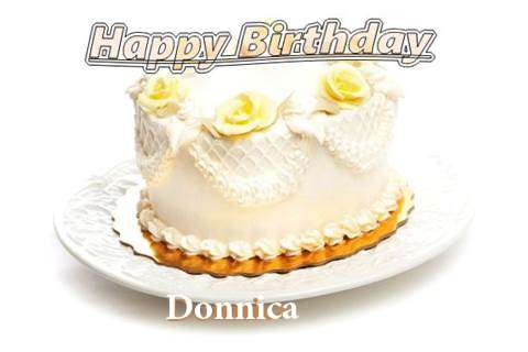 Happy Birthday Cake for Donnica