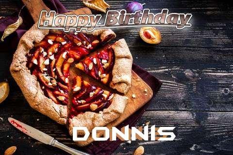 Happy Birthday Donnis Cake Image