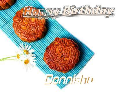 Birthday Wishes with Images of Donnisha