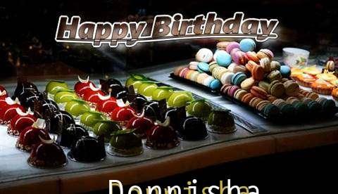 Happy Birthday Cake for Donnisha