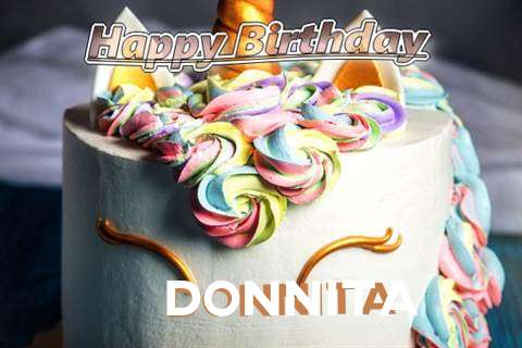 Birthday Wishes with Images of Donnita