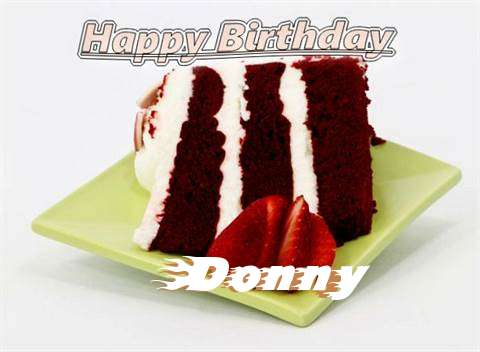 Birthday Wishes with Images of Donny
