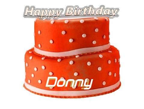 Happy Birthday Cake for Donny