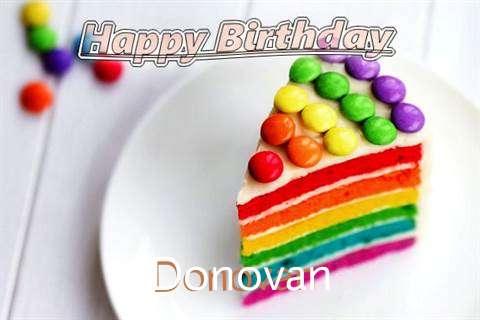 Donovan Birthday Celebration