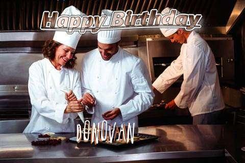 Happy Birthday Cake for Donovan