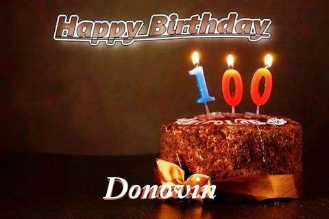 Donovin Birthday Celebration