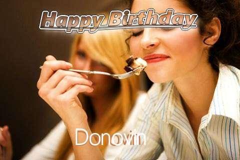 Happy Birthday to You Donovin