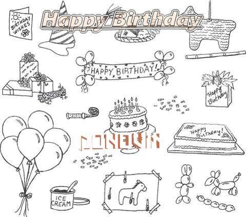 Happy Birthday Cake for Donovin