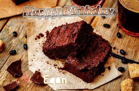 Happy Birthday Egan Cake Image
