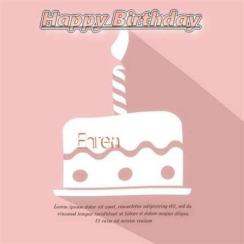 Happy Birthday Ehren