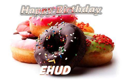 Birthday Wishes with Images of Ehud