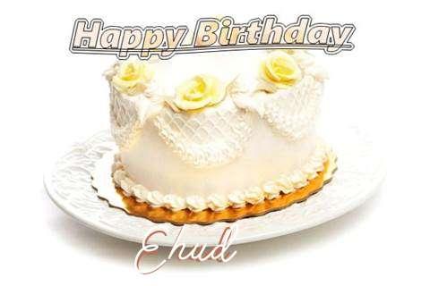 Happy Birthday Cake for Ehud