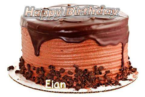 Happy Birthday Wishes for Eian